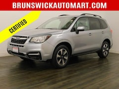 Certified Pre-Owned 2017 Subaru Forester 2.5i Premium CVT SUV for Sale in Brunswick, OH