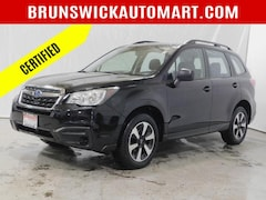 Used 2018 Subaru Forester 2.5i CVT SUV VW191402A for sale in Brunswick, Ohio at Brunswick Subaru