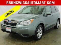 Certified Pre-Owned 2015 Subaru Forester 4dr CVT 2.5i Premium Pzev SUV for Sale in Brunswick, OH