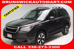 Certified Pre-Owned 2017 Subaru Forester 2.5i CVT SUV for Sale in Brunswick, OH