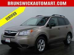 Certified Pre-Owned 2016 Subaru Forester 4dr CVT 2.5i Pzev SUV for Sale in Brunswick, OH