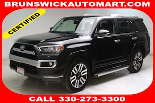 Certified Pre-Owned 2016 Toyota 4Runner Limited SUV T183630A for sale near you in Brunswick, OH