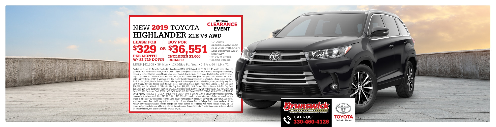 Brunswick Auto Mart Toyota serving the greater Cleveland, Akron