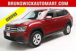 Certified Pre-Owned 2018 Volkswagen Atlas 2.0T S SUV VW200210A for sale near you in Brunswick, OH