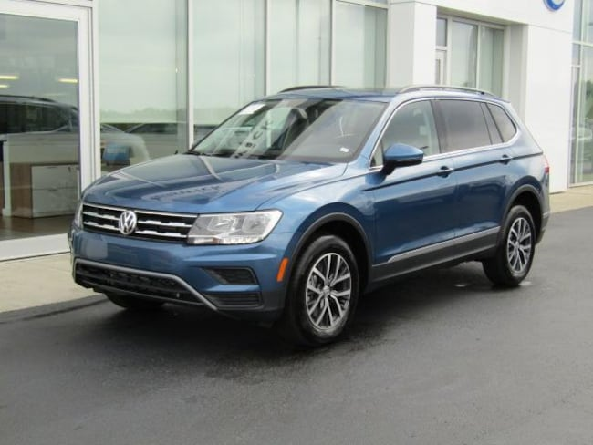 New 2019 Volkswagen Tiguan 2.0T SE 4MOTION SUV for sale in the Brunswick, OH