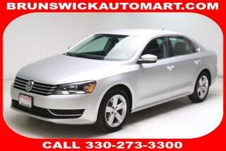 Used 2014 Volkswagen Passat 1.8T SE Sedan 1VWBS7A35EC087126 SB191071A in Brunswick, OH
