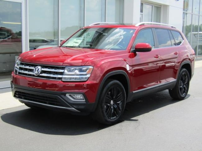 New 2018 Volkswagen Atlas 3.6L V6 SEL Premium 4MOTION SUV for sale in the Brunswick, OH