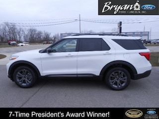 New 2021 Ford Explorer XLT SUV For Sale in Bryan, OH