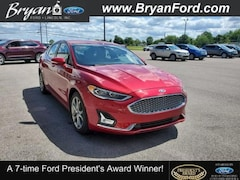 Used 2019 Ford Fusion Hybrid Titanium Ford  Sedan Front-Wheel Drive with Limited-S in Bryan, OH