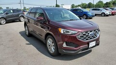 Used 2019 Ford Edge Titanium Ford  SUV All-Wheel Drive with Locking and L in Bryan, OH