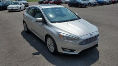 Used 2018 Ford Focus Titanium Ford  Hatchback Front-Wheel Drive with Limit in Bryan, OH