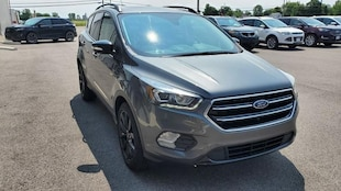 2017 Ford Escape Titanium Ford  SUV Four-Wheel Drive with Locking and