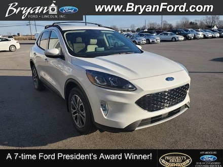 New 2020 Ford Escape SEL SUV for sale in Bryan, OH