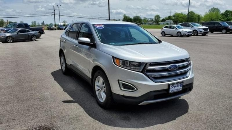 Used 2015 Ford Edge SEL Ford  SUV All-Wheel Drive with Locking and L for sale in Bryan, OH