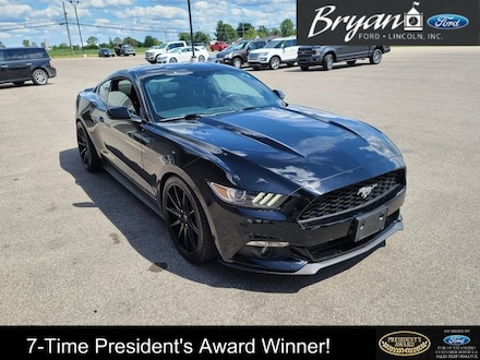 Used 2015 Ford Mustang Ecoboost Coupe for sale in Bryan, OH
