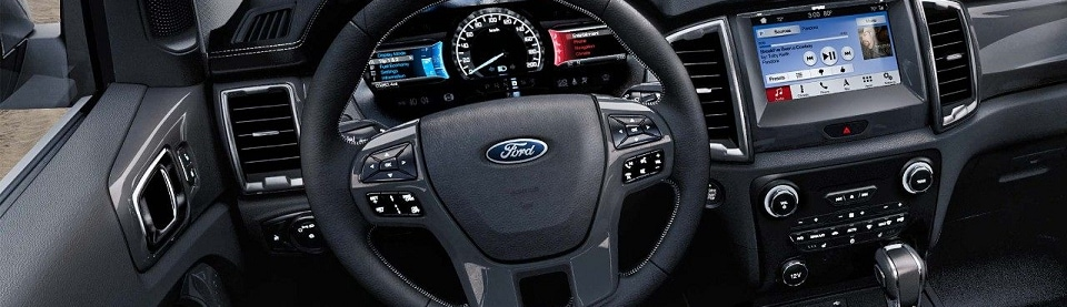 New Ford Ranger Interior