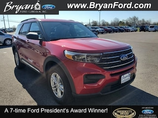 New 2020 Ford Explorer XLT SUV For Sale in Bryan, OH
