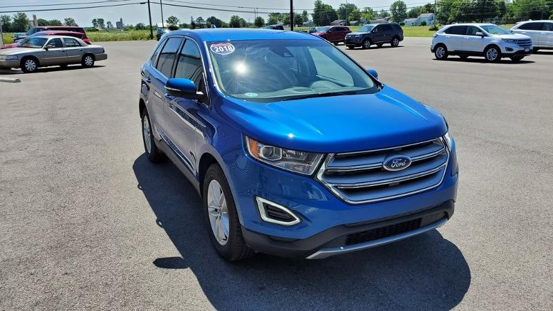 Used 2018 Ford Edge SEL Ford  SUV All-Wheel Drive with Locking and L for sale in Bryan, OH
