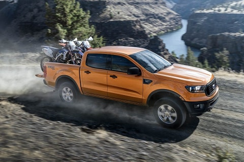 New Ford Ranger With Payload