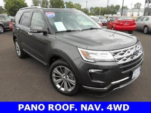 2018 Ford Explorer Limited Ford  SUV Four-Wheel Drive with Locking Diff