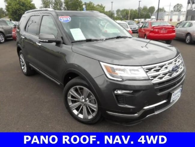 Used 2018 Ford Explorer Limited Ford  SUV Four-Wheel Drive with Locking Diff for sale in Bryan, OH