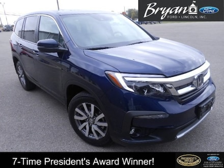 Used 2019 Honda Pilot EX-L SUV for sale in Bryan, OH