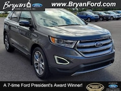 Used 2015 Ford Edge Titanium Ford  SUV All-Wheel Drive with Locking and L in Bryan, OH