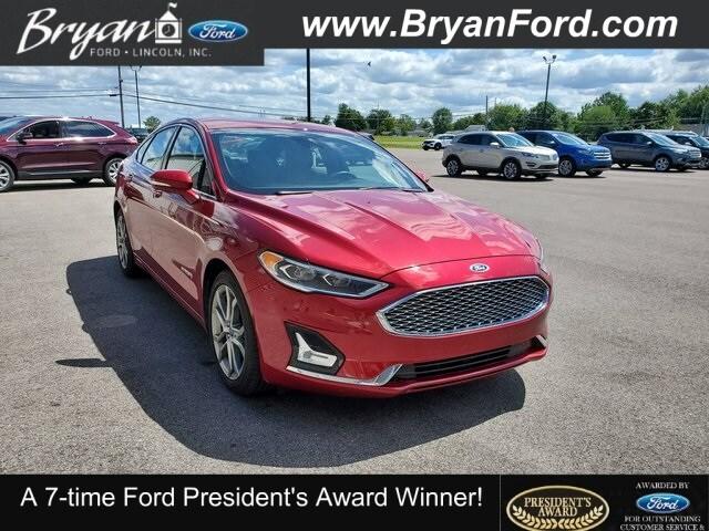 Used 2019 Ford Fusion Hybrid Titanium Sedan for sale in Bryan, OH