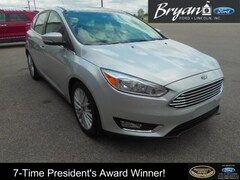 Used 2018 Ford Focus Titanium Hatchback in Bryan, OH