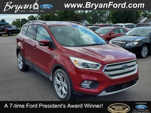 2018 Ford Escape Titanium Ford  SUV Four-Wheel Drive with Locking and