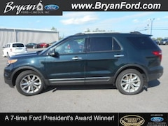 Used 2014 Ford Explorer Limited Ford  SUV Four-Wheel Drive with Locking Diff in Bryan, OH