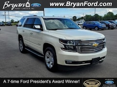 Used 2015 Chevrolet Tahoe LTZ Chevrolet  SUV Four-Wheel Drive with Locking in Bryan, OH