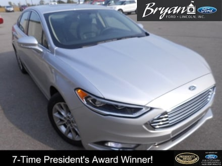 Used 2017 Ford Fusion SE Sedan for sale in Bryan, OH