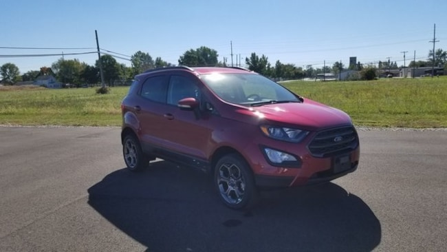 New 2018 Ford EcoSport SES Crossover for sale in Bryan, OH