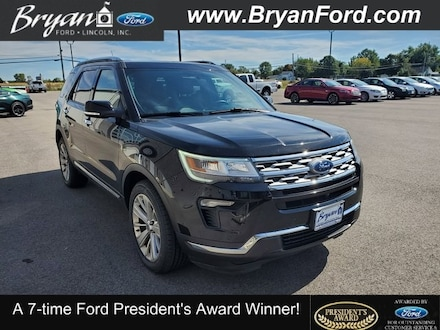 Used 2019 Ford Explorer Limited SUV for sale in Bryan, OH