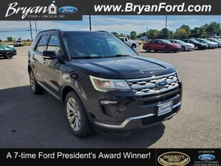 2019 Ford Explorer Limited FORD  SUV FOUR-WHEEL DRIVE WITH LOCKING DIFF