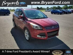 2014 Ford Escape Titanium Ford  SUV Front-Wheel Drive with Limited-Sli