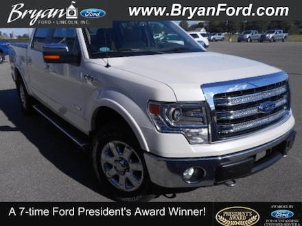 2013 Ford F-150 Lariat Ford  Crew Cab Short Bed Truck Four-Wheel Dr