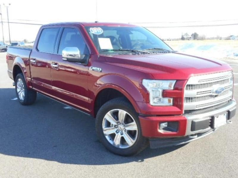 2017 Ford F-150 Platinum Ford  Crew Cab Truck Four-Wheel Drive with L