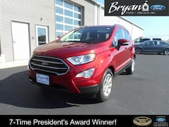 2018 Ford EcoSport SE Ford  SUV Front-Wheel Drive with Limited-Sli