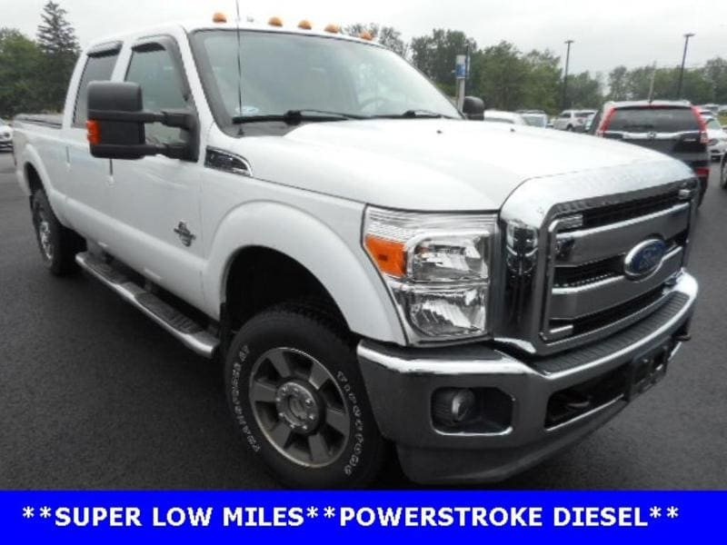2011 Ford F-250 Lariat Ford  Crew Cab Truck Four-Wheel Drive with L