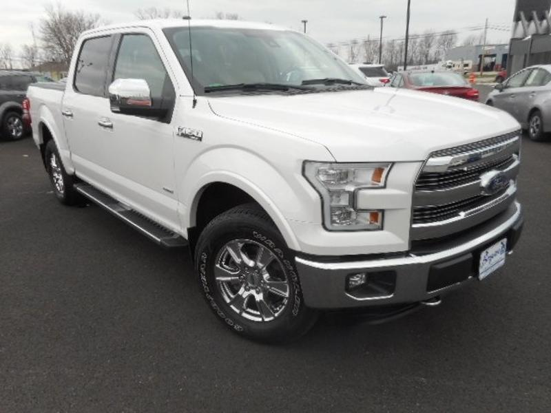 2016 Ford F-150 Lariat FORD  CREW CAB TRUCK FOUR-WHEEL DRIVE WITH L
