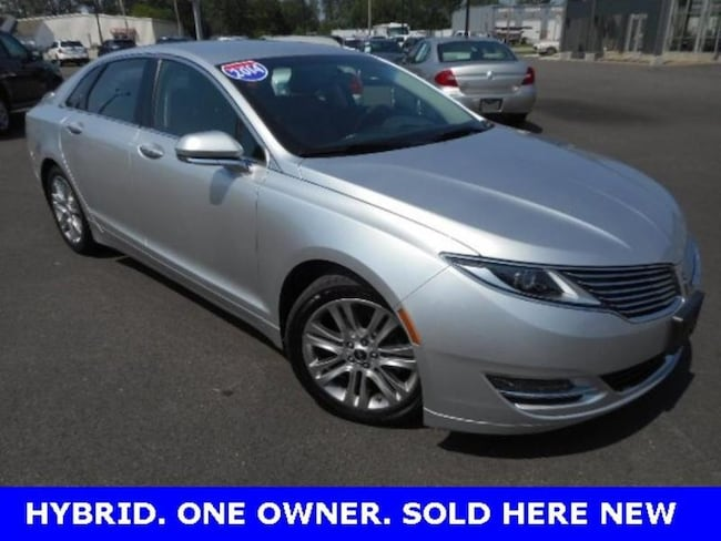 Used 2014 Lincoln Mkz Hybrid For Sale At Bryan Lincoln Inc Vin