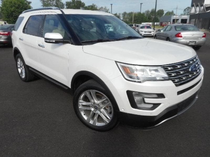 2017 Ford Explorer Limited FORD  SUV FOUR-WHEEL DRIVE WITH LOCKING DIFF