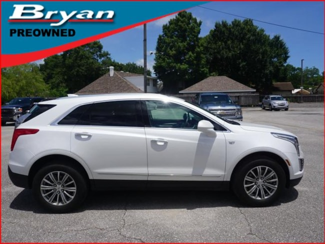 Used 2017 CADILLAC XT5 Luxury FWD SUV for sale in Metairie, Louisiana