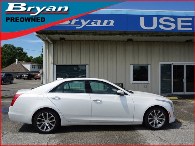 Used 2016 CADILLAC CTS 2.0L Luxury RWD Sedan for sale in Metairie, Louisiana