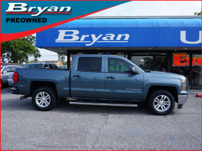 Used 2014 Chevrolet Silverado 1500 LT w/1LT 2WD 143WB Truck Crew Cab for sale in Metairie, Louisiana