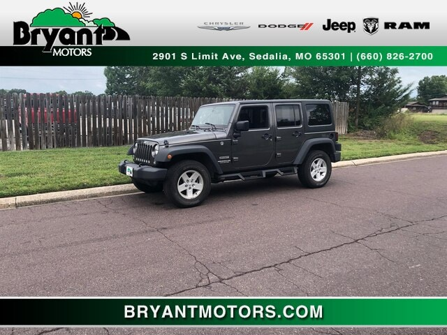 2017 Jeep Wrangler JK Unlimited Sport 4x4 SUV