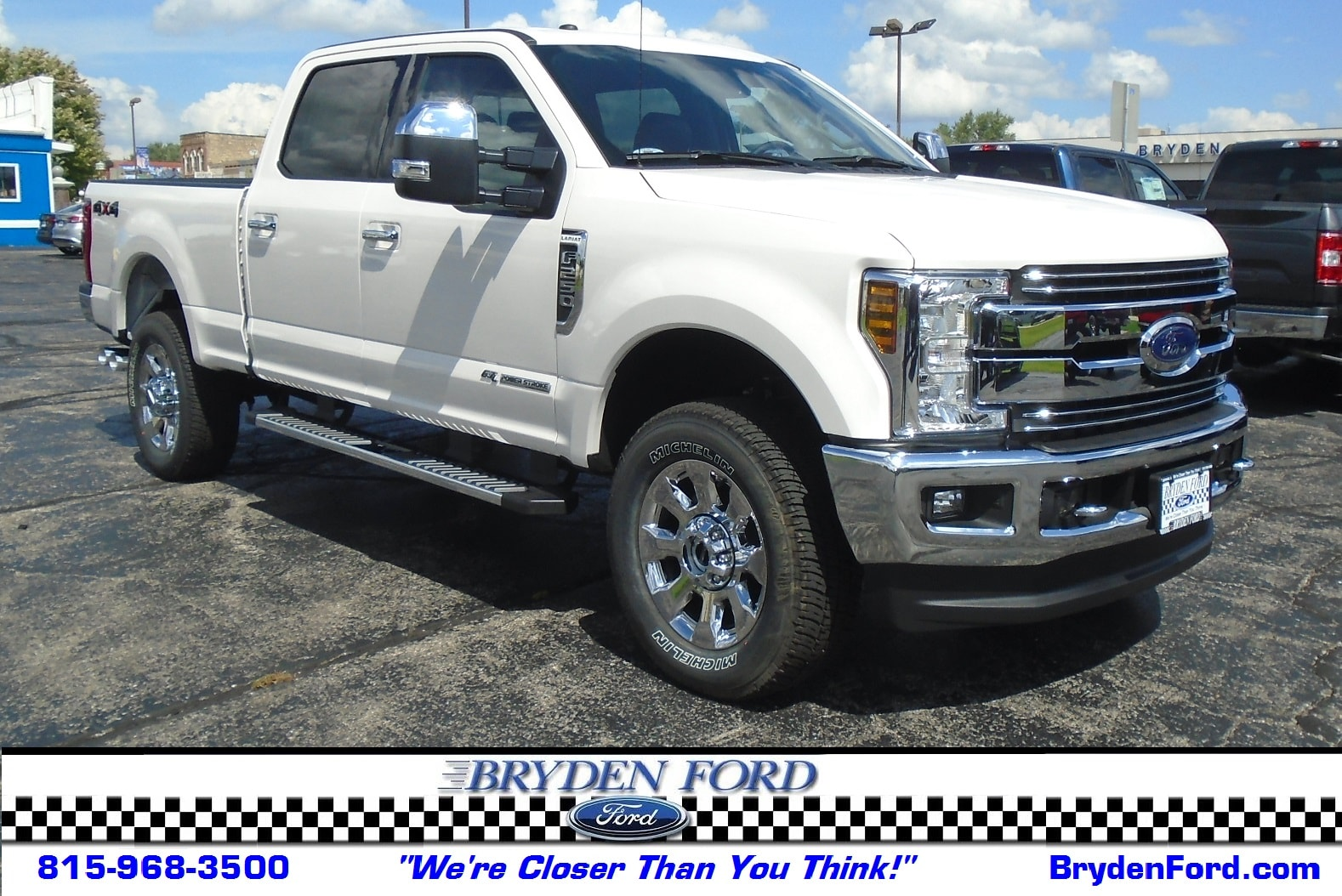 2018 Ford Superduty F250 Lariat 4X4 6.5' Bed Truck