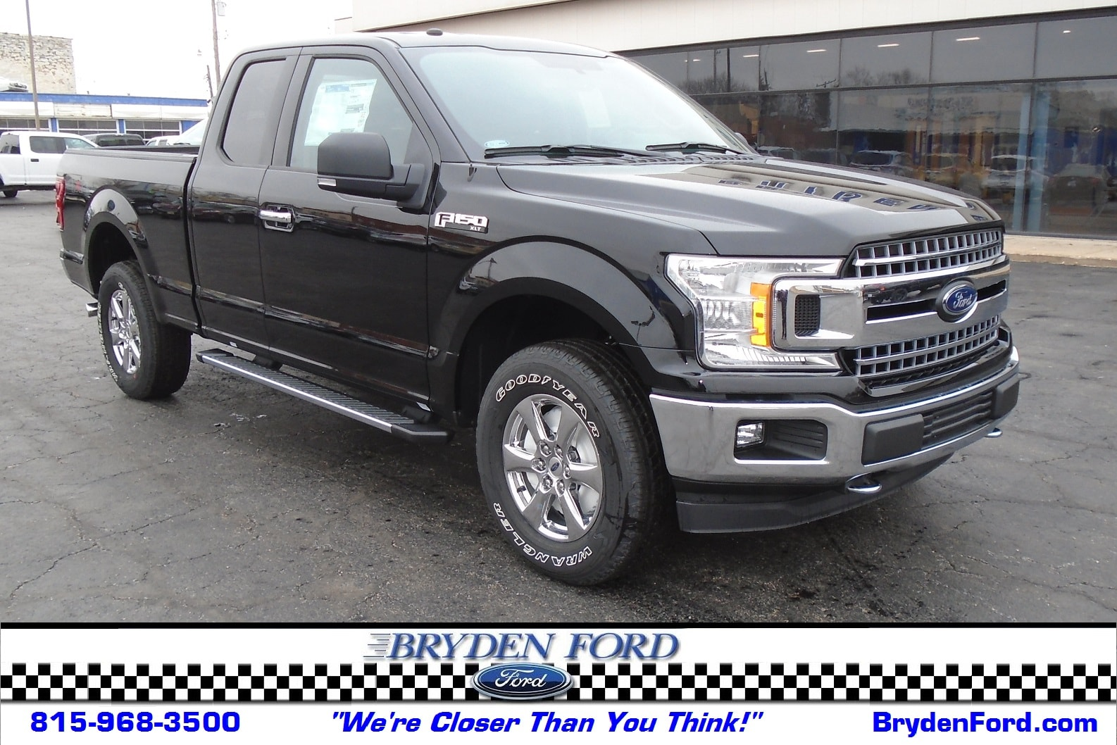 2018 Ford F150 SuperCrew XLT 4X4 5.5' Bed Truck